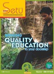SAHAJ Newsletter December, 2011 (English)