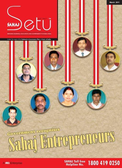 Government recognises - Sahaj