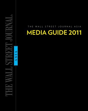 MEDIA GUIDE 2011 - Wall Street Journal Asia