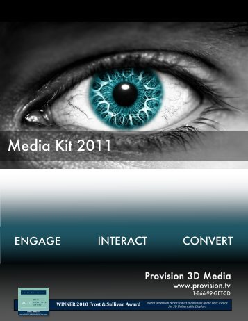 Download Media Kit - Provision.tv