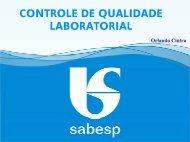 controle de qualidade laboratorial - ASEC