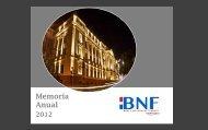 Memoria y Balance 2012 - Banco Nacional de Fomento