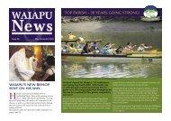 April - Waiapu