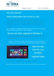 We Have Moved! Secure your Data, Upgrade to Windows 8 Make ...