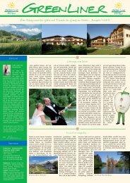 Mit der BayerwaldCard 500 mal sparen! - GreenLine Hotels