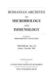 Vol.64, Issues 1-4, January-December 2005 - Roami.ro