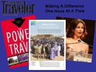 Making a Difference One Issue at a Time - Travelers' Philanthropy