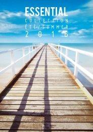 ESSENTIAL - spring summer 2016