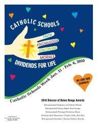 January 13, 2010 - The Catholic Commentator