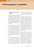 Influenzapandemie Risikomanagement in Apotheken - Page 6