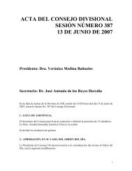 Acta 387 13 Junio 2007 - CBI - UAM