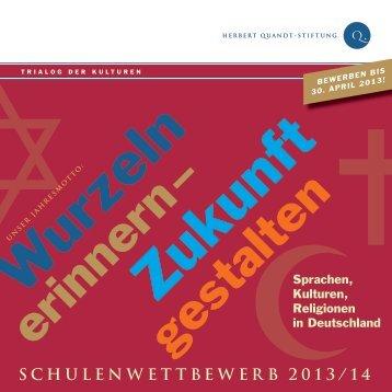 Flyer - Herbert-Quandt-Stiftung