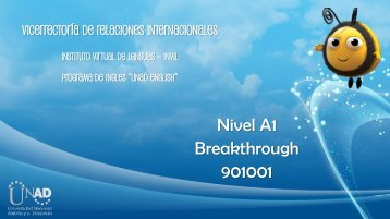 Nivel A1 Breakthrough 901001