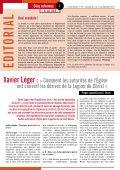 Interview de Xavier Léger - Pastorale Nouvelles Croyances et ... - Page 2