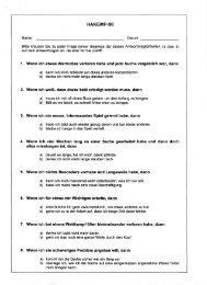 4. Wenn ich vier Wochen lang an einer Sache ... - ADHS in Krefeld