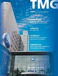 Semi-annual report 2007 - TMg