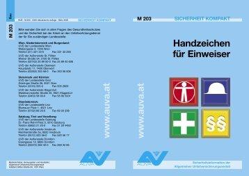 Handzeichen f