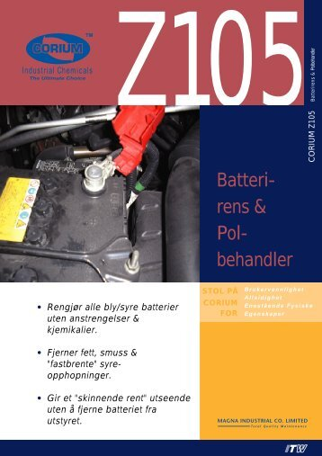 Batteri- rens & Pol- behandler - abema