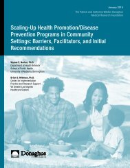 Scaling-Up Health Promotion/Disease Prevention Programs in ...