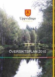 ÖVERSIKTSPLAN 2010 - Uppvidinge kommun