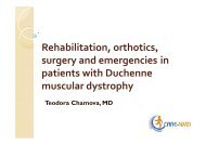 Rehabilitation, orthotics, surgery and emergencies in ... - CARE-NMD