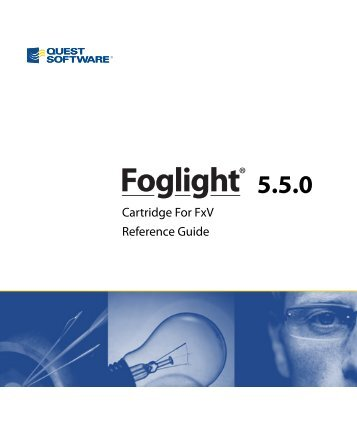 Foglight Cartridge for FxV Reference Guide - Quest Software