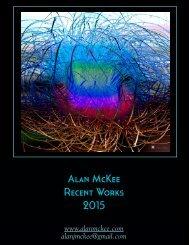 Alan McKee Recent Works 2015