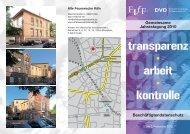 Flyer Jahrestagung 2010 - FIfF