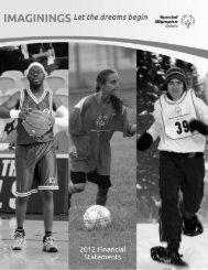 2012 - Special Olympics Ontario