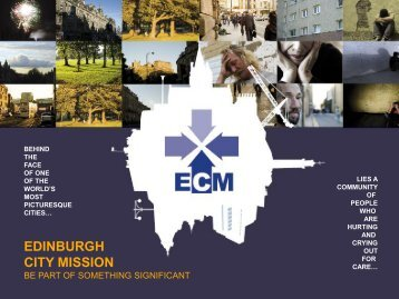 Edinburgh City Mission - Powerpoint Presentation ... - Edinburgh 2010