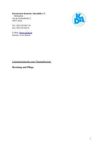 Kuratorium Deutsche Altershilfe e
