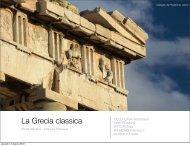 La Grecia classica - Liceo Classico C.Cavour
