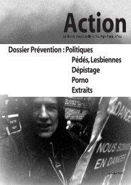 Dossier Prévention :Politiques Pédés,Lesbiennes ... - Act Up-Paris