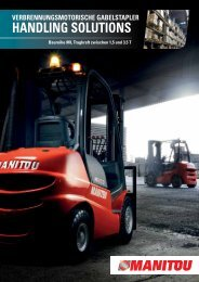 HANDLING SOLUTIONS - Manitou