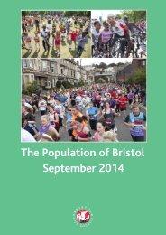 Population of Bristol September 2014