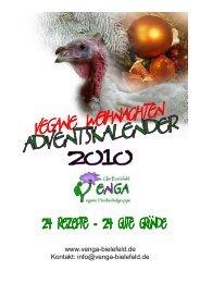 Vengas Adventskalender 2010 - Venga Bielefeld