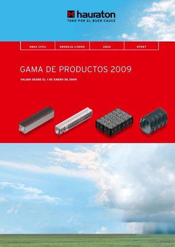 gama de productos hauratoncom