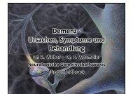 Ursachen, Symptome und Behandlung der ... - Neurologie-ffb.de