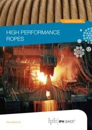 HIGH PERFORMANCE ROPES - iph saicf