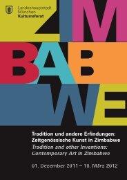 Zeitgenössische Kunst in Zimbabwe - Nord Süd Forum München