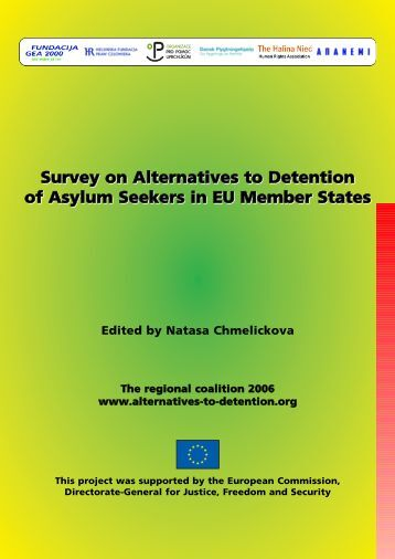 Survey on Alternatives to Detention of Asylum Seekers in EU ...