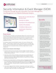 Security Information & Event Manager (SIEM) - NES Communications