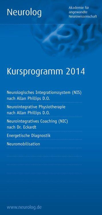Neurolog Kursprogramm 2014