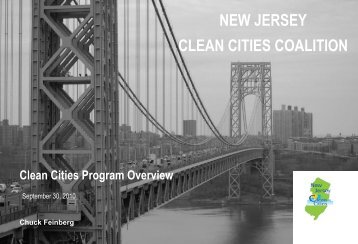 Clean Cities Overview - Energy Vision