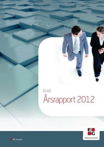 Årsrapport 2012 - EG A/S