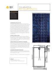 SoLarmoDuL rEC SoLar SCm 210 - PV Solartechnik