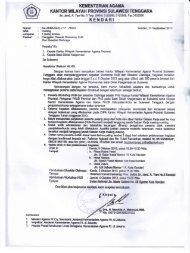 Pemanggilan Peserta Orientasi Aplikasi Data Perencanaan (ADP)