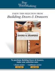 Building Doors & Drawers - The Taunton Press