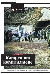 Kampen om konfirmantene - Stiftelsen Kirkeforskning KIFO