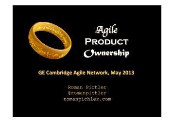 Agile Product Ownership - Roman Pichler